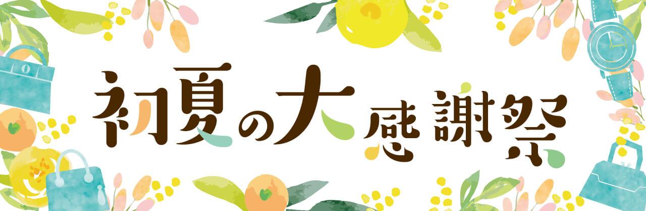 初夏の大感謝祭!