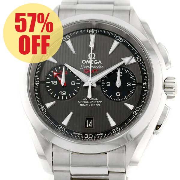 オメガ シーマスター アクアテラ クロノグラフ GMT 231.10.43.52.06.001 OMEGA 腕時計
