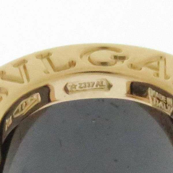 ブルガリ ピアス B-zero1 K18PGピンクゴールド/ブラックセラミック 347405 BVLGARI ジュエリー アクセサリー