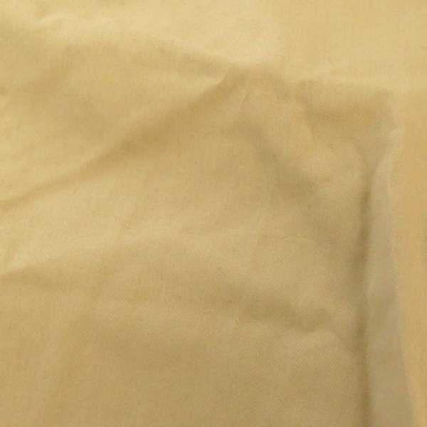 ロエベ コート レザートリムコットンシルクトレンチコート レディースサイズ38 LOEWE ベージュ ステンカラーコート 裏地付き