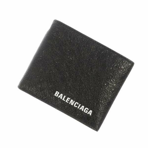 バレンシアガ 財布 チェーンウォレット 504933 BALENCIAGA 二つ折り財布 メンズ 黒