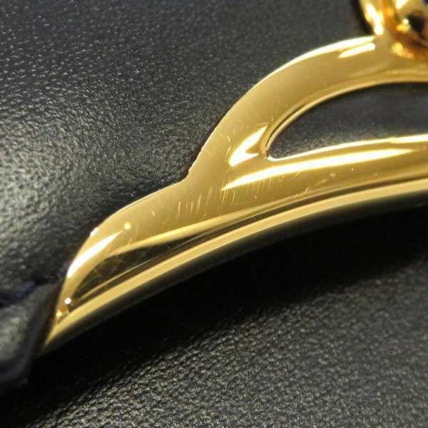 カルティエ ショルダーバッグ サファイア レザー Cartier バッグ
