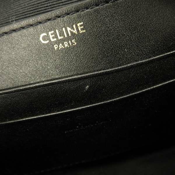 セリーヌ ショルダーバッグ Cチャーム 188363 CELINE バッグ 黒 ミニバッグ