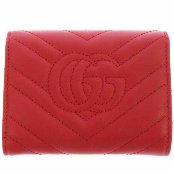 グッチ 三つ折り財布 GGマーモント コンパクトウォレット 474802 GUCCI 財布 折りたたみ