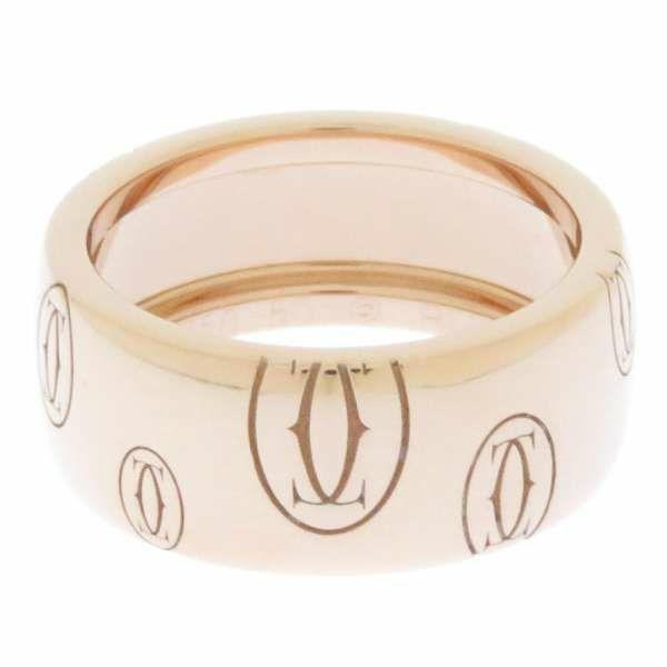 カルティエ リング ハッピーバースデー リング ラージ K18PGピンクゴールド リングサイズ50 B4051200 B4051250 Cartier ジュエリー 指輪