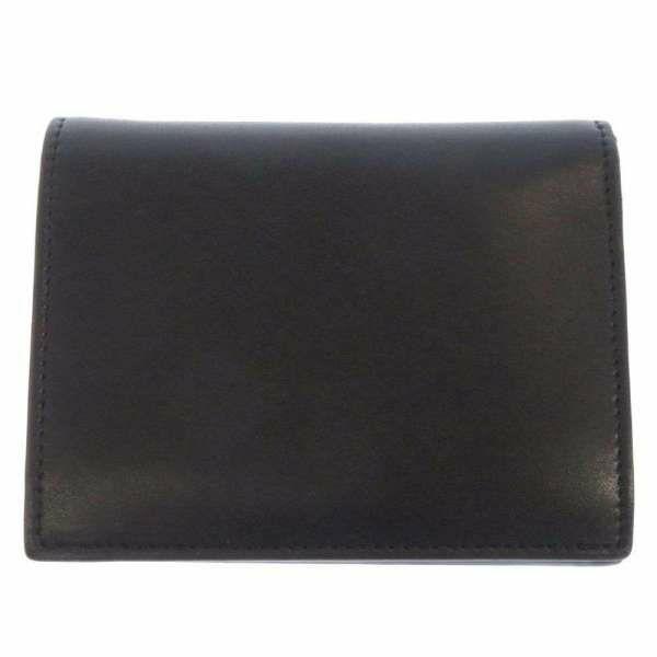 フェンディ 二つ折り財布 エフイズフェンディ 8M0387 FENDI 財布 折りたたみ 黒