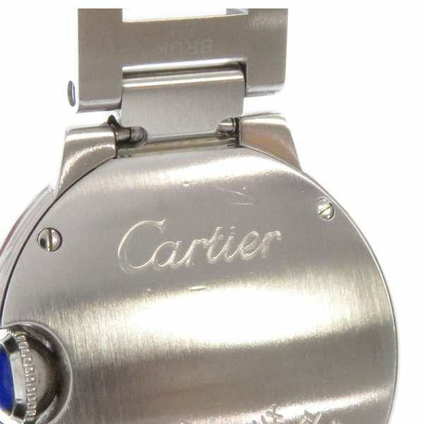 カルティエ バロンブルーSM 28mm ピンク文字盤 SS W6920038 Cartier 腕時計 レディース