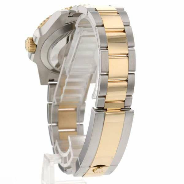 ロレックス サブマリーナ デイト コンビ SS/K18YGイエローゴールド ランダムシリアル ルーレット 116613LN ROLEX 腕時計 ウォッチ 黒文字盤