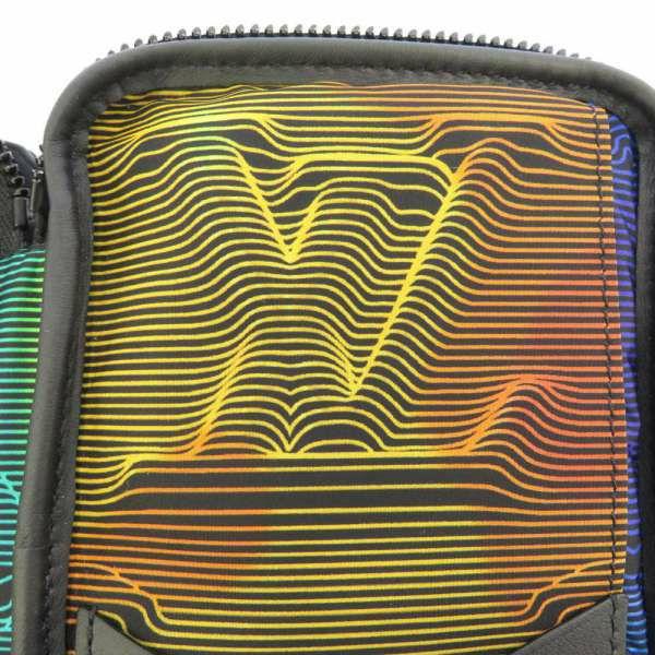 ルイヴィトン ポーチ 3Dモノグラム ダブル・フォン ポーチ M80141 LOUIS VUITTON ヴィトン メンズ 黒 ショルダーウォレット