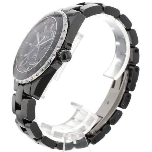 シャネル J12 GMT セラミック H2012 CHANEL 腕時計 黒文字盤
