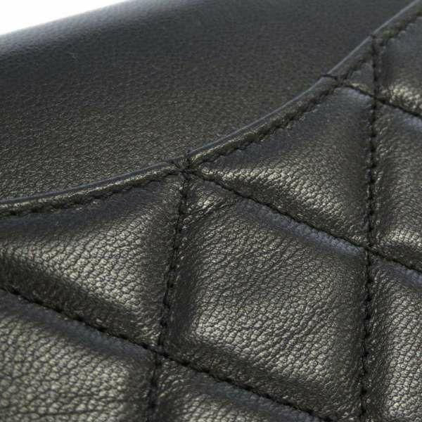 シャネル チェーンウォレット ココマーク ゴートスキン AP2020 CHANEL 財布 ブラック 黒