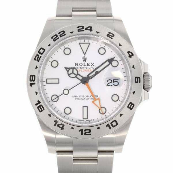 ロレックス エクスプローラー2 ランダムシリアル ルーレット 216570 ROLEX 腕時計 ウォッチ 白文字盤