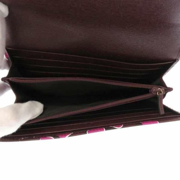 グッチ 長財布 ハートビートプリント PVC 309702 GUCCI 二つ折り財布 ハートモチーフ