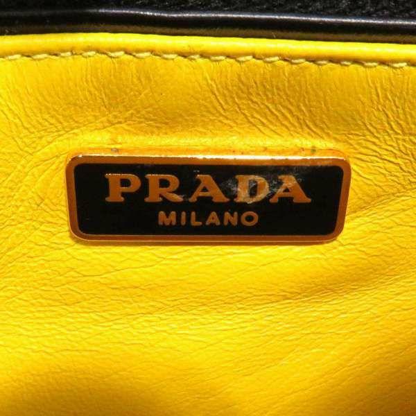 プラダ ハンドバッグ ブラック レザー B2708C PRADA バッグ 黒