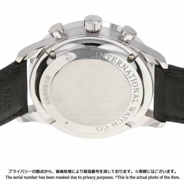 IWC ポルトギーゼ クロノグラフ IW371446 腕時計 ウォッチ シルバー文字盤 アリゲータストラップ