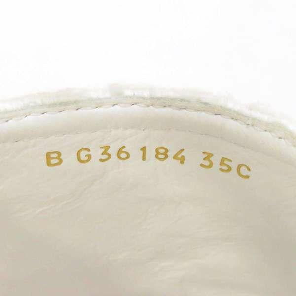 シャネル サンダル ココマーク エスパドリーユ アンクルストラップ レディースサイズ35 G36184 CHANEL 靴 白 黒 2020年春夏