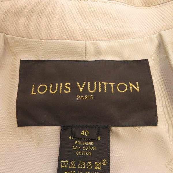 ルイヴィトン ロングコート ポリアミド コットン レディースサイズ40 LOUIS VUITTON ヴィトン 服 アパレル アウター