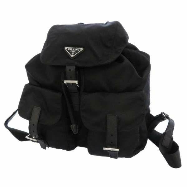プラダ リュック ナイロン バックパック 1BZ811 PRADA バッグ リュックサック 黒