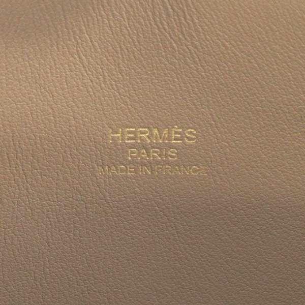 エルメス ハンドバッグ ボリード25 1923 エトゥープ/ゴールド金具 ヴォーエプソン Z刻印 HERMES バッグ 2wayショルダーバッグ