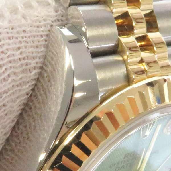 ロレックス レディ デイトジャスト ダイヤモンド SS/K18YGイエローゴールド 10Pダイヤ ランダムシリアル ルーレット 279173G ROLEX 腕時計 レディース
