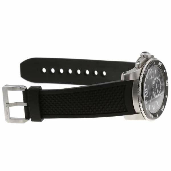 カルティエ カリブル ドゥ カルティエ ダイバー W7100056 Cartier 腕時計 ウォッチ 黒文字盤