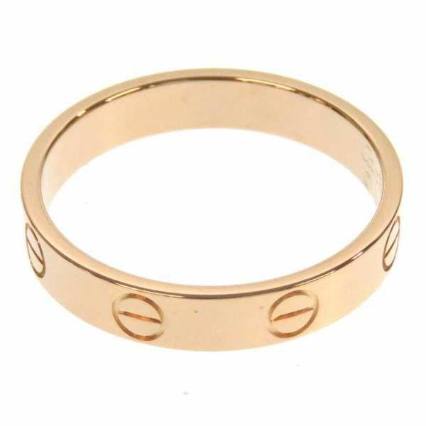 カルティエ リング ミニラブリング サイズ55 K18PGピンクゴールド B4085255 B4085200 Cartier ジュエリー 指輪