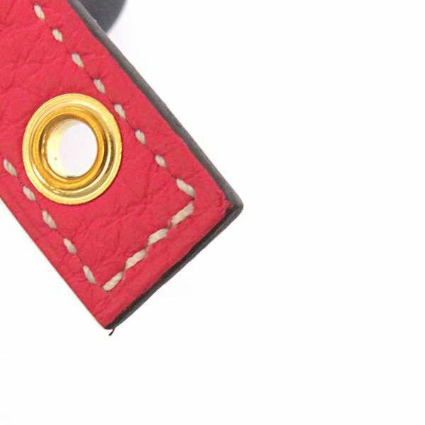 エルメス ハンドバッグ ピコタンロックPM カザック ローズエクストリーム/ブルーニュイ/ゴールド金具 トリヨンクレマンス D刻印 HERMES トートバッグ バイカラー