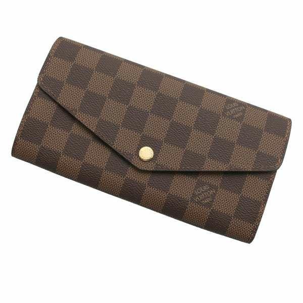 ルイヴィトン 長財布 ダミエ ポルトフォイユ・サラ ローズバレリーヌ N60114 LOUIS VUITTON ヴィトン 財布