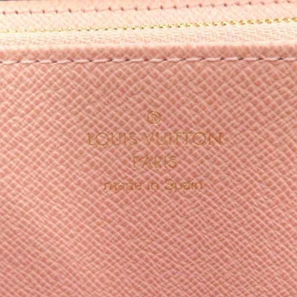 ルイヴィトン 長財布 ダミエ ジッピー・ウォレット N60046 LOUIS VUITTON ヴィトン 財布 ラウンドファスナー ローズバレリーヌ