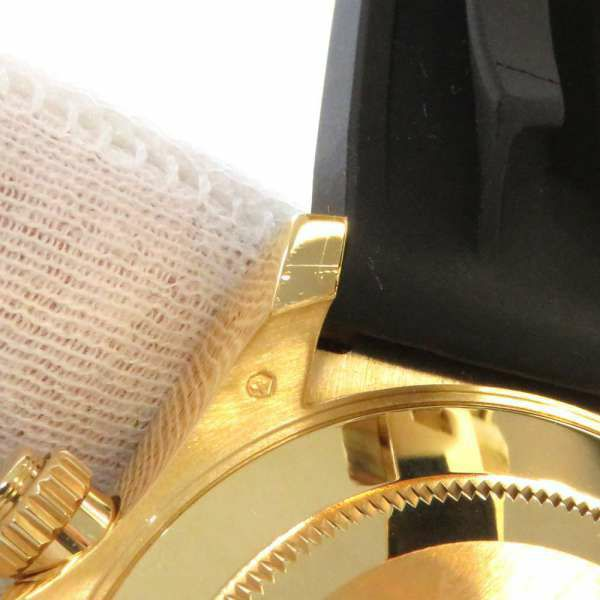 ロレックス コスモグラフ デイトナ K18YGイエローゴールド 8Pダイヤ ランダムシリアル 116518LNG ROLEX 腕時計