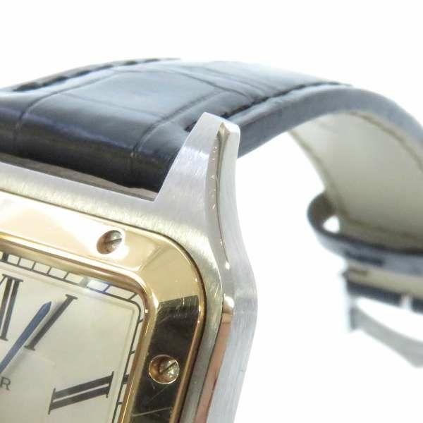 カルティエ サントス デュモン LM K18PGピンクゴールド W2SA0011 Cartier 腕時計 クォーツ