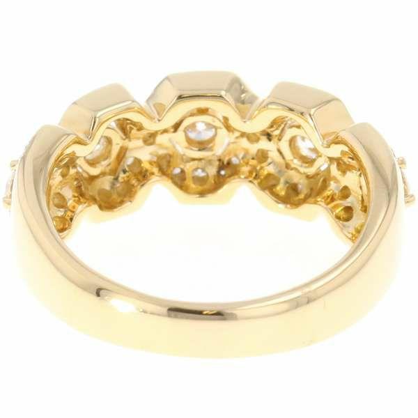 ダイヤモンド リング ダイヤモンド 0.85ct K18YGイエローゴールド リングサイズ14号 ジュエリー 指輪
