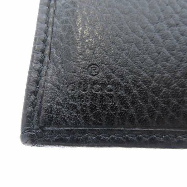 グッチ 二つ折り財布 GG プチ マーモント L字ファスナー 546588 GUCCI 財布 黒