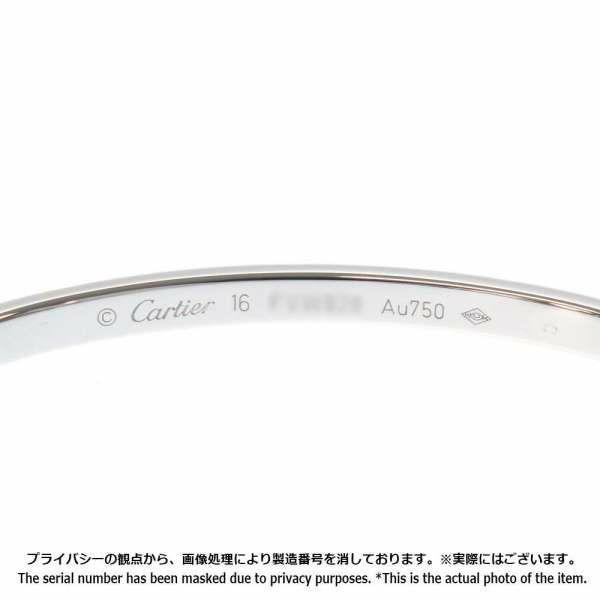 カルティエ ブレスレット ラブブレス SM K18WGホワイトゴールド サイズ16 B6048016 Cartier ジュエリー