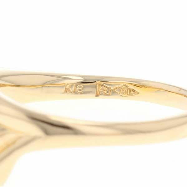 ダイヤモンド リング ダイヤモンド 0.52ct K18YGイエローゴールド リングサイズ11号 ジュエリー 指輪