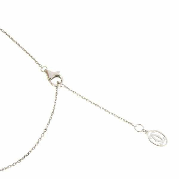 カルティエ ネックレス エタンセル ドゥ カルティエ ネックレス K18WGホワイトゴールド  ダイヤモンド 6P 0.26ct B7224573 Cartier ジュエリー ペンダント