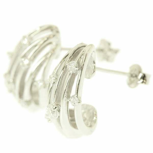 ダイヤモンド ピアス ダイアモンド 計0.3ct Pt900プラチナ ジュエリー アクセサリー
