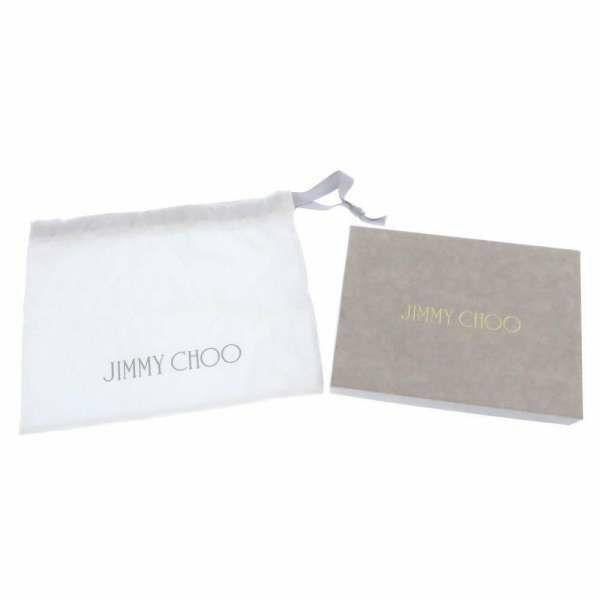ジミーチュウ ショルダーバッグ JIMMY CHOO チェーンショルダー バッグ ラフィア