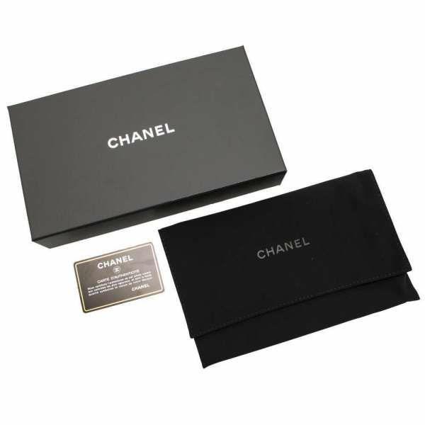 シャネル 長財布 カメリア ココマーク A82281 CHANEL 財布 ラウンドファスナー フラワー 黒