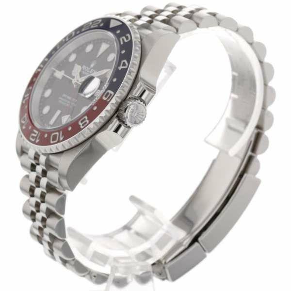 ロレックス GMTマスター2 デイト ランダムシリアル ルーレット 126710BLRO ROLEX 腕時計 黒文字盤