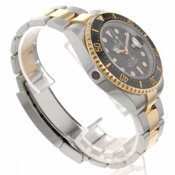 ロレックス シードゥエラー コンビ SS/K18イエローゴールド ランダムシリアル ルーレット 126603 ROLEX 腕時計 黒文字盤