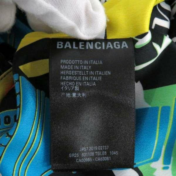 バレンシアガ ワンピース ノースリーブ プリーツデザイン レディースサイズ34 601108 BALENCIAGA 服 リボン