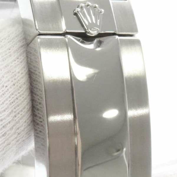 ロレックス コスモグラフ デイトナ ランダム 116520 黒文字盤 ROLEX 腕時計 クロノグラフ ウォッチ 梨地 安心保証