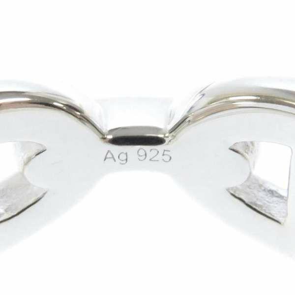 エルメス リング シェーヌダンクル アンシェネPM SV925 シルバー リングサイズ55 HERMES 指輪 ジュエリー Ag925 シルバー925