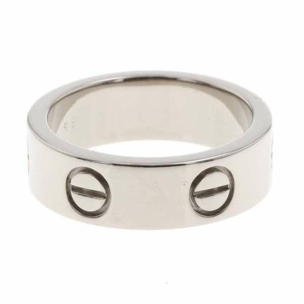 カルティエ ラブリング K18WGホワイトゴールド リングサイズ49 B4084700 B40847499 Cartier 指輪 ジュエリー