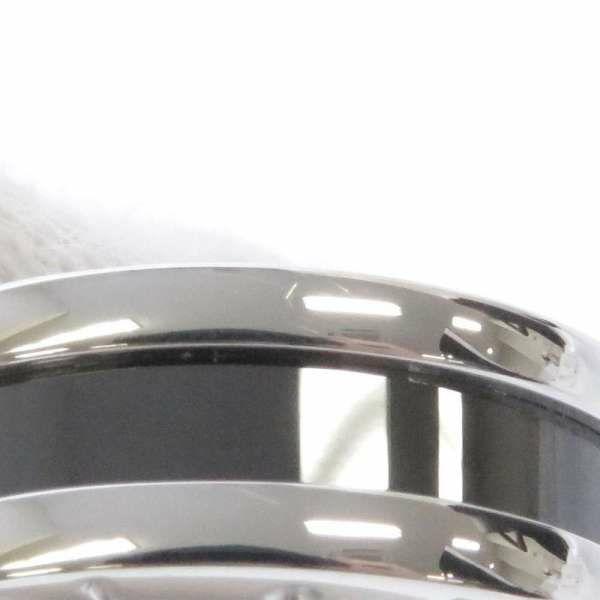 ブルガリ リング セーブ・ザ・チルドレン 1バンド SV925 シルバー ブラックセラミック リングサイズ50 346091 BVLGARI ジュエリー 指輪 ビー・ゼロワン