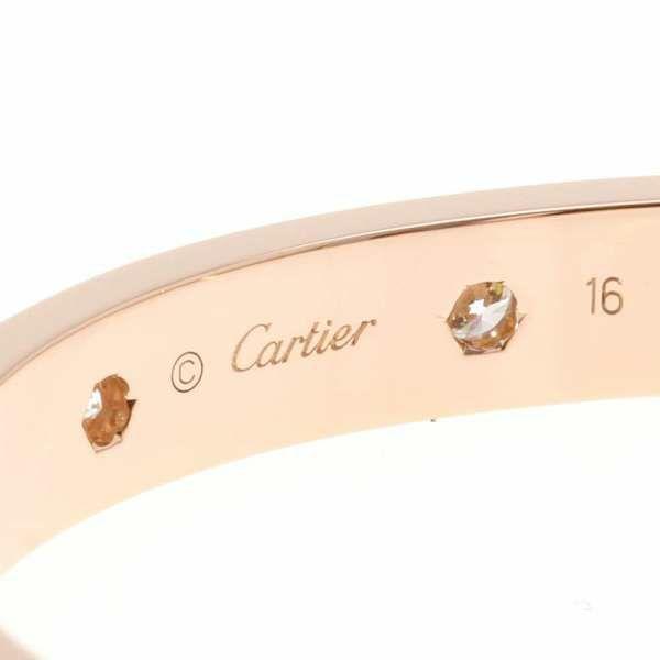 カルティエ ブレスレット ラブブレス フルダイヤ ダイヤモンド 10P 0.96ct K18PGピンクゴールド B6040600 B6040616 Cartier ジュエリー