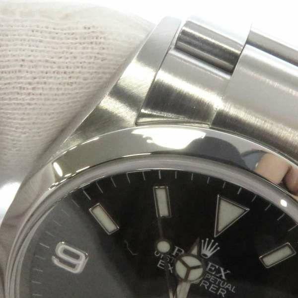 ロレックス エクスプローラー1 F番 114270 ROLEX 腕時計 黒文字盤