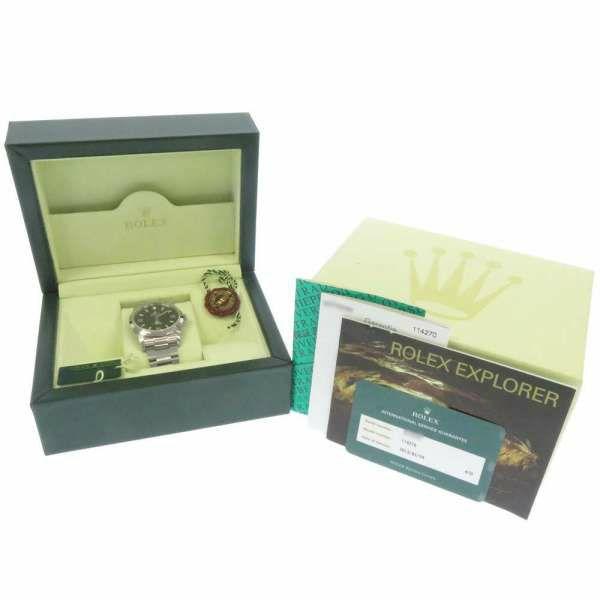 ロレックス エクスプローラー1 D番 114270 ROLEX 腕時計 黒文字盤