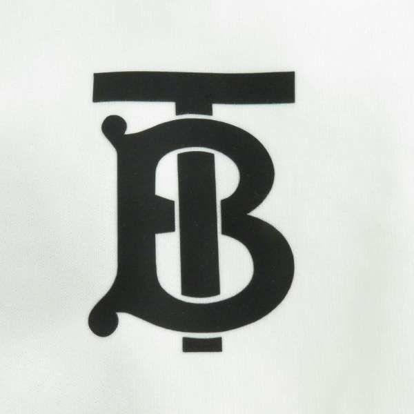 バーバリー パーカー TBロゴ プルオーバー レディースサイズM 8024351 BURBERRY 服 アパレル トップス フーディ ホワイト 白
